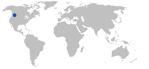 Lake Windermere on world map