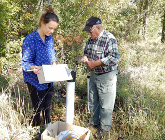 Citizen Science: Groundwater monitoring in Upper Columbia Region