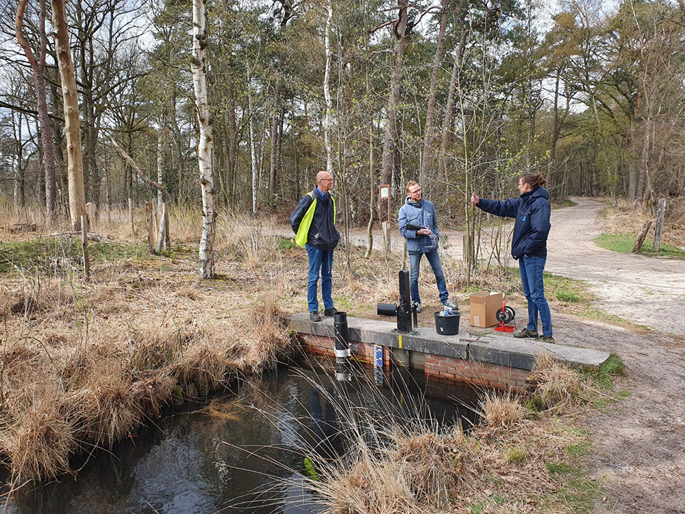 Telemetric Monitoring of Surface Water Levels in De Groote Meer